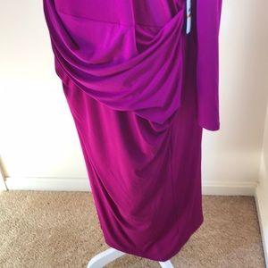 RACHEL Rachel Roy Dresses - NWT! Rachel Rachel Roy 3X violet midi dress